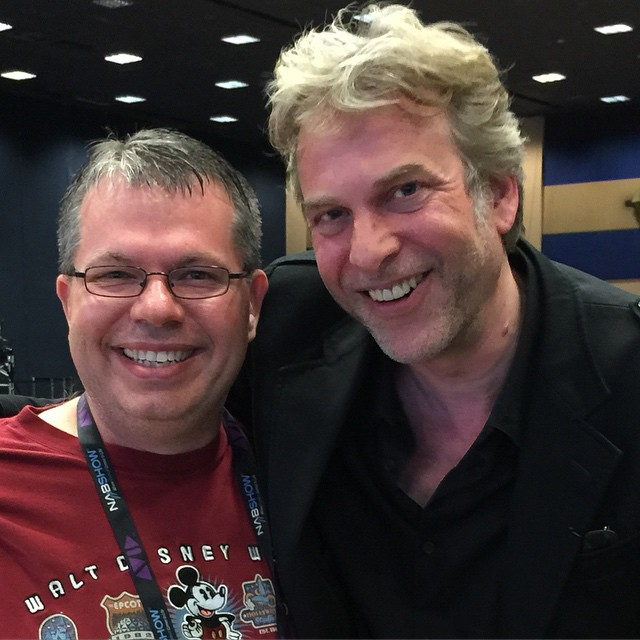 It was cool to see Adam Curry at the #NMX Podcast Awards tonight.